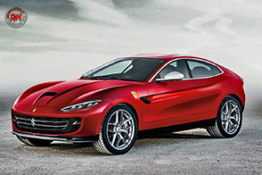 Tecnologia ibrida e motore V8 turbo: il SUV Ferrari pronto per il 2019