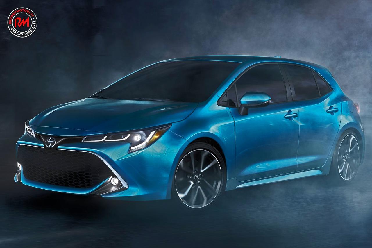 Debutta al Salone dell'Auto di New York la Toyota Corolla ...