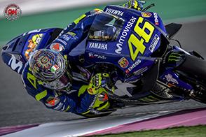 MotoGP Qatar: partirà dalla terza fila, un riflessivo Valentino Rossi