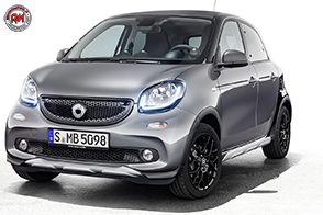 Look da urban jungle per la smart forfour crosstown edition