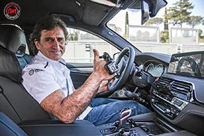 Consegnata ad Alex Zanardi la nuova BMW M5