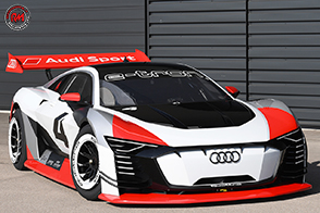 Audi e-tron Vision Gran Turismo utilizzata come race taxi in Formula E