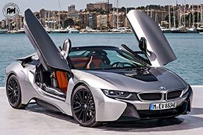 Stile, prestazioni ed unicità per la nuova BMW i8 Roadster