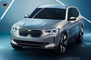 Anteprima mondiale della nuova BMW Concept iX3