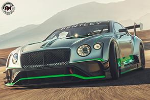 Bentley Continental GT3 debutta nel mondo delle competizioni