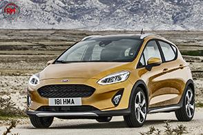 Look da off-road per la nuova ed intraprendente Fiesta Active