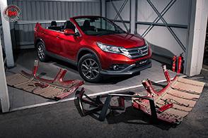 Uno scherzo che potrebbe celare una Honda CR-V Roadster