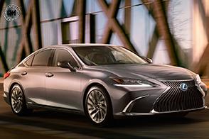 Design coinvolgente e finiture di pregio per la nuova Lexus ES
