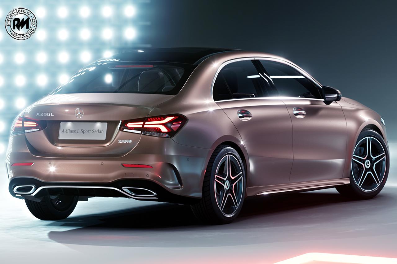 Debutta a pechino la nuova mercedes benz classe a l berlina for Mercedes benz in la