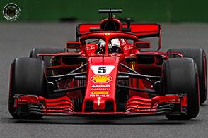 Sebastian Vettel domina a Spa davanti ad Hamilton e Verstappen