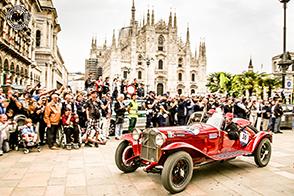 Alfa Romeo trionfa alla Mille Miglia grazie ad una triplice vittoria