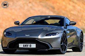 Una scultura sulle quattro ruote: Aston Martin Vantage Tungsten Silver!