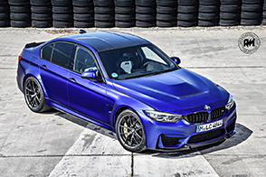 Nuova BMW M3 CS: fibra di carbonio e cavalleria!!!