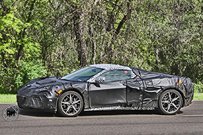 Sorpresi i prototipi della nuova Chevrolet Corvette C8