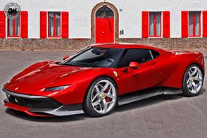 Una one-off esclusiva ed unica: è la nuova Ferrari SP38