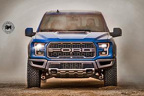 Ford aggiorna il suo pick-up F-150 Raptor con sospensioni adattive