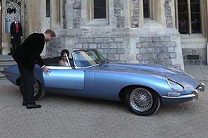 Al Royal Wedding spunta una Jaguar E-Type Zero Concept