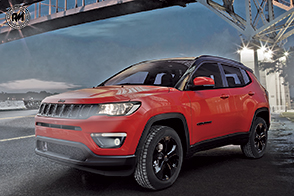 Look inedito per la nuova Jeep Compass Night Eagle
