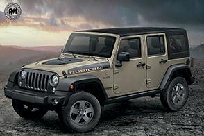 Non conosce ostacoli la nuova serie speciale Jeep Wrangler Rubicon Recon