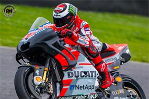 Nuovo telaio per la Ducati Desmosedici GP di Jorge Lorenzo