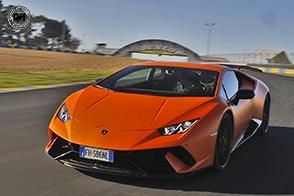Una Lamborghini Huracán Performante da record
