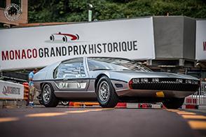 Lamborghini Marzal al GP de Monaco Historique guidata dal Principe di Monaco