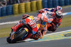 Nel Gran Premio di Le Mans,  splendida vittoria per Marc Marquez