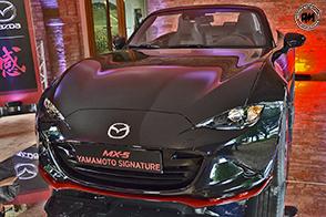 Mazda al Salone dell'Auto di Torino esporrà la MX-5 Yamamoto Signature
