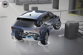Quattro ruote sterzanti per la nuova Volkswagen Touareg