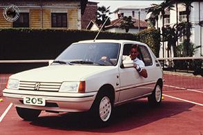 Roland Garros e Lacoste: le serie speciali della Peugeot 205