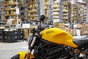 Nuovo polo di stoccaggio ricambi Ducati e Lamborghini