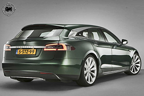 Arriva da Londra la nuova Tesla Model S Shooting Brake