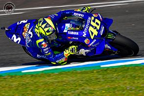 Ad Jerez de la Frontera, Rossi termina la sua gara in quinta posizione