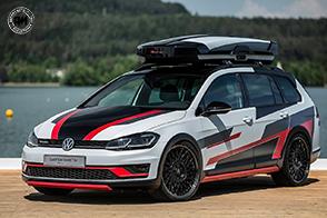 Volkswagen Golf Variant TGI GMotion Concept: più che un esercizio di stile!