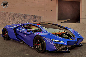 Un rendering da sogno per l'ipnotica Lamborghini Celestial