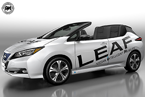 Nissan Leaf Open Car: la scoperta che ama viaggiare in silenzio!