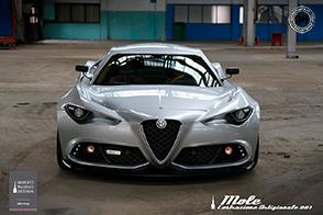 Unica ed originale: Alfa Romeo Mole Costruzione Artigianale 001
