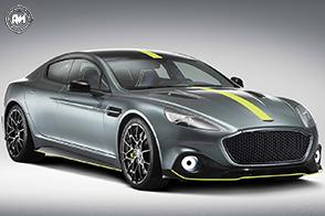 Fibra di carbonio ed un V12 per la nuova Aston Martin Rapide AMR