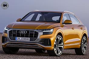 Nuova Audi Q8: sportività, eleganza e motorizzazioni ibride