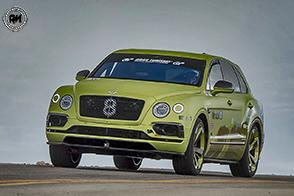 Bentley Bentayga Pikes Peak: il SUV dei record!