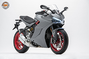 Nuova colorazione Titanium Grey per la gamma Ducati Supersport
