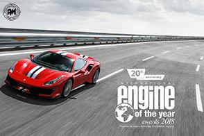 Il V8 Turbo Ferrari eletto miglior motore degli ultimi 20 anni