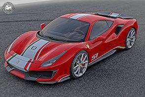 """Ferrari 488 Pista allestimento """"Piloti Ferrari"""""""