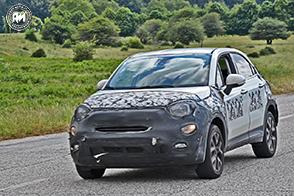 La futura Fiat 500X sarà anche elettrica? Sorpresi diversi muletti…