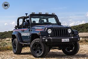 Consegnata all'Arma dei Carabinieri una speciale Jeep Wrangler