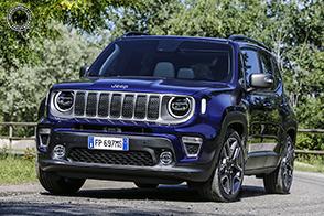 Svelata la nuova Jeep Renegade 2019 al Salone dell'Auto di Torino
