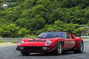 Restaurata dal Lamborghini Polo Storico una rarissima Miura SVR