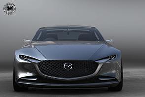Mazda celebra la Vision Coupé ai Caselli Daziari dell'Arco della Pace