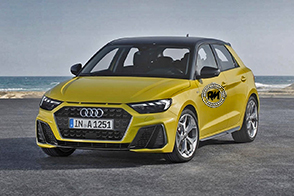 Look sportivo e presa d'aria dinamica per la nuova Audi A1
