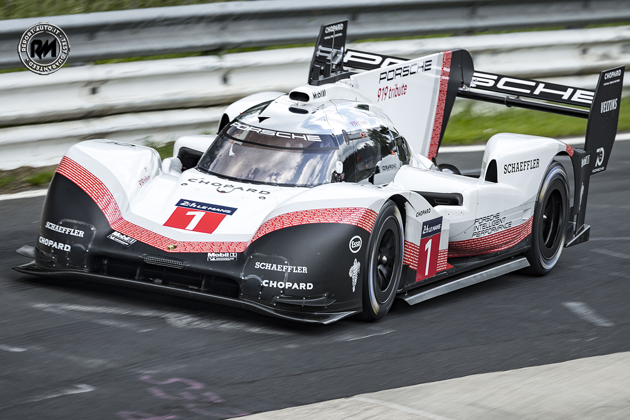al nurburgring record per la porsche 919 hybrid evo 5 minuti. Black Bedroom Furniture Sets. Home Design Ideas